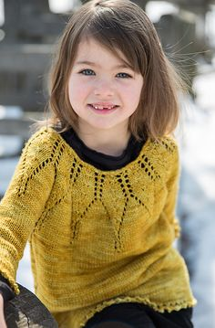 Ravelry: Little Varya Pullover pattern by Kathryn Ashley-Wright