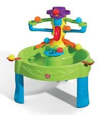 Toddler Learning Activity Indoor/Outdoor Busy Water And Ball Game Play Table New
