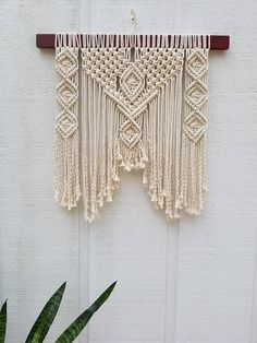 Modern Farmhouse Decor / Large Macrame Wall Hanging / Gift for