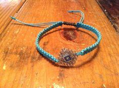 Blue Tile Bracelet by BeccasjamsandCrafts on Etsy https://www.etsy.com/listing/232774425/blue-tile-bracelet