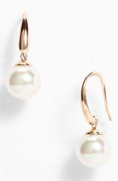 166c8a94ee36 Majorica 10mm Pearl Drop Earrings