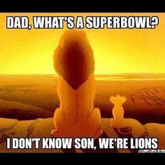oh no... it's true (as in Detroit Lions)