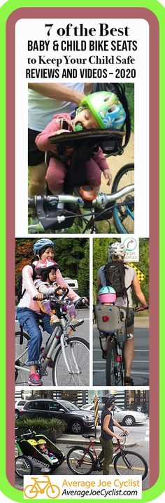 Child Bike Seat Kid Baby Carrier Rack Adjustable Sturdy Safe Award Winning New