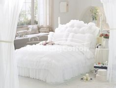 White Queen Size Comforter Sets