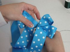 How To Make Hair Bows, Video & Step by Step! | Southern Plate