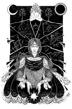 Маглор и последний сильмарилл     Maglor and the Last Silmarill by owl-glass on DeviantArt