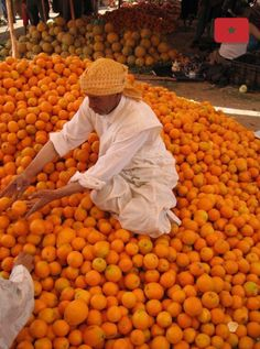 Morocco has soooo much delicious fruits! And colors!  #fruit #morocco #orange #healthy