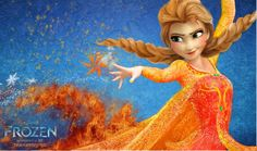 Anna Frozen (Fire version) .... :D