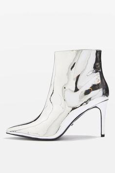 premium selection ebe19 f77f6 Ankle boots mimosa Top Shop - Les chaussures miroir, le nouveau basique que  notre dressing attendait - Elle