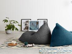 Designer Zitzakken   MADE.com Furniture Sale, Furniture Design, Bean Bag Living Room, Modern Bean Bags, Bean Bag Design, Kids Living Rooms, Woman Cave, Bedroom Chair, Baby Pillows