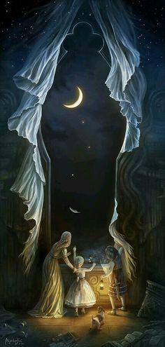 Holy birth by Moonlight