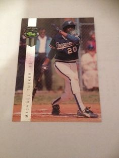 1992 Classic Four Sport  Michael Tucker K.C.Royals Baseball Card Insert #BC20 MT #Athletics #OaklandAthletics
