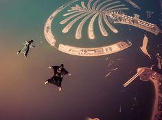 Dubai'ye gidip hava dalışı yani skydive yapmadan dönmek olmaz.