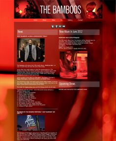 Band Website Love: The Bamboos