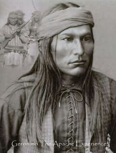 Chief Naiche (ca. Final hereditary chief of the Chiricahua band of Apache. Naiche was the youngest son of Cochise and Dos-teh-seh. His older brother was Chief Taza - Dunway Enterprises Native American Pictures, Native American Beauty, Native American Tribes, Native American History, American Indians, Apache Indian, Native Indian, Art Indien, Geronimo
