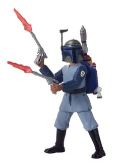 Star Wars Saga 2002 Attack of the Clones Boba Fett Kamino Escape -- See this great product.Note:It is affiliate link to Amazon.