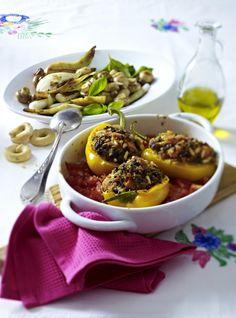 Unser beliebtes Rezept für Gemüse-Antipasti und mehr als 55.000 weitere kostenlose Rezepte auf LECKER.de.