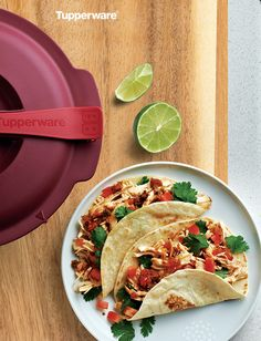 Simply Salsa Chicken in the Microwave Pressure Cooker.