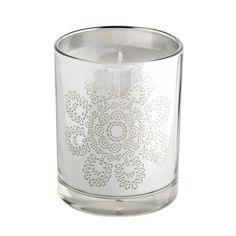 Tine K Home / Vonná svíčka Silver Flower Bella Rose, Silver Flowers, Candle Holders, Candles, Lanterns, Villa, Trends, Bathroom, Interior