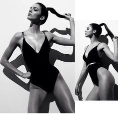 Kendall Jenner models black swimsuit in Instagram photo