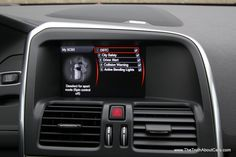 2012 Volvo XC60 R-Design Polestar, dashboard, Photography courtesy ...