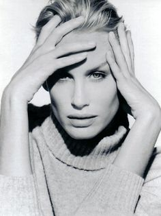 Daryl Hannah Headshot Black and White - P 2012 Daryl Hannah, Catherine Deneuve, Sean Penn, White Photography, Portrait Photography, Divas, Beautiful People, Beautiful Women, Beautiful Gorgeous