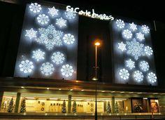Luces de #Navidad en el Centro Comercial Costa #Marbella #ElCorteIngles