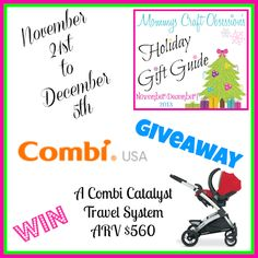 Momma Lew: Combi Catalyst Travel System Giveaway - Ends 12/5