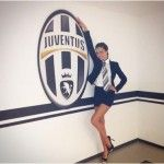Juventus scudetto: Laura Barriales madrina portafortuna