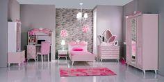 Bedroom Wardrobe, Barbie Bedroom, Girls Bedroom, Bedrooms, Baby Room, Girl Room, Paint Designs, Corner Shelves, Mirror