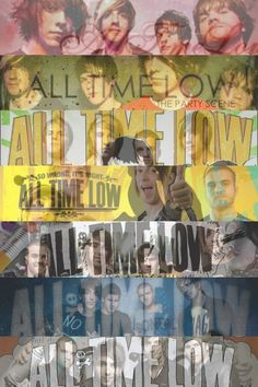 All Time Low over the years.