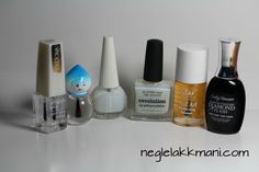 Testing Top coats for nail foils