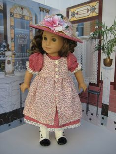 18 inch Doll Clothes American Girl Print by CrabapplesBoutique