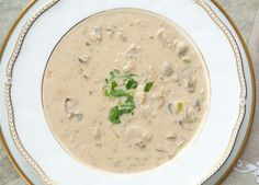 A creamy holiday oyster stew with oysters, milk, butter, onions, celery, parsley, and a dash of Tabasco.