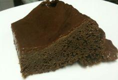 Bolo tentação de chocolate Dukan sem farelos Vegetarian Recipes, Healthy Recipes, I Love Chocolate, Free Food, Mousse, Sweets, Cooking, Cake, Desserts