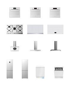 appliances / Amica IN. Pure White /  2015 / designed by CODE design