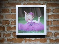 Canvas Photo Print 23cm x 23cm For Family and Friends Great Gift