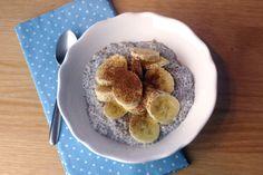 Chiasamen-Pudding mit Kokosmilch / Chia Seed Pudding with Coconut Milk