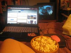 Mickey Mouse, Popcorn and Computer Day 128