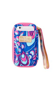Gifts for college girls should be fun and practical. That's why we love this   iPhone wristlet case. She'll love the print and security of keeping her phone   and ID in the same place. This iPhone tech case is a no brainer gift for the    co-ed Lilly girl.