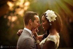 Gorgeous interracial couple wedding photography #love #wmbw #bwwm #favorite ❤