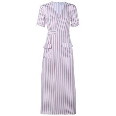 Frame Denim striped silk dress, $455Buy it now