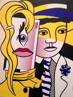 Un Lichtenstein hermoso..