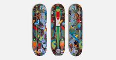 Charley Harper for HABITAT Skateboards | Kilo