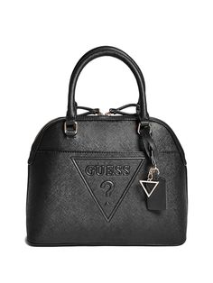 (This is an affiliate pin) GUESS Factory Women's Rigden Logo Dome Satchel Fall Handbags, Best Handbags, Cheap Handbags, Fashion Handbags, Leather Purses, Leather Handbags, Backpack Purse, Tote Bag, Womens Purses