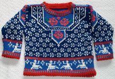 Sweet norwegian rose sweater