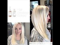 ▶ Olaplex Tutorial | Platinum Blonde | NO BREAKAGE - YouTube