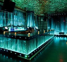 Vanity night club Las Vegas at Hard Rock Hotel and Casino Bar Interior Design, Apartment Interior Design, Diy Interior, Interior Decorating, Decorating Tips, Interior Office, Bar Restaurant, Restaurant Design, Nightclub Design