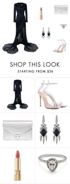 """""""Untitled #9503"""" by mie-miemie ❤ liked on Polyvore featuring Esteban Cortazar, Gianvito Rossi, Loeffler Randall, Stephen Webster and Dolce&Gabbana"""