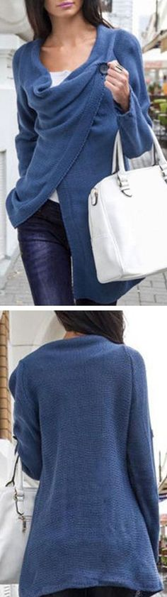 Cozy Fleece Wrap Sweater ❤︎
